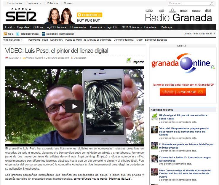 luis peso radio granada