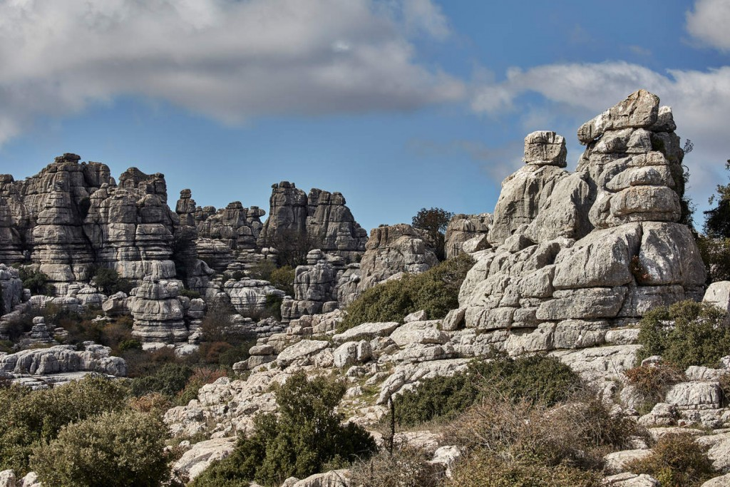 El Torcal National Park, a unesco site close to Antequera, Spain                              NYTCREDIT: Andy Haslam for The New York Times