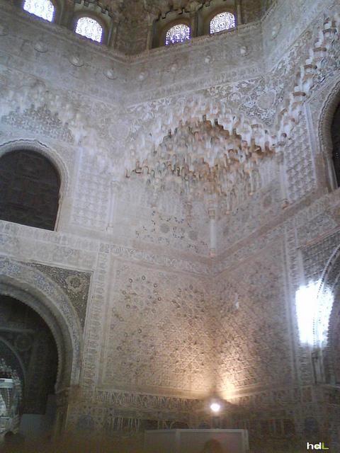HDL 06 08 Interior de los Palacios Nazaríes de la Alhambra. Granada