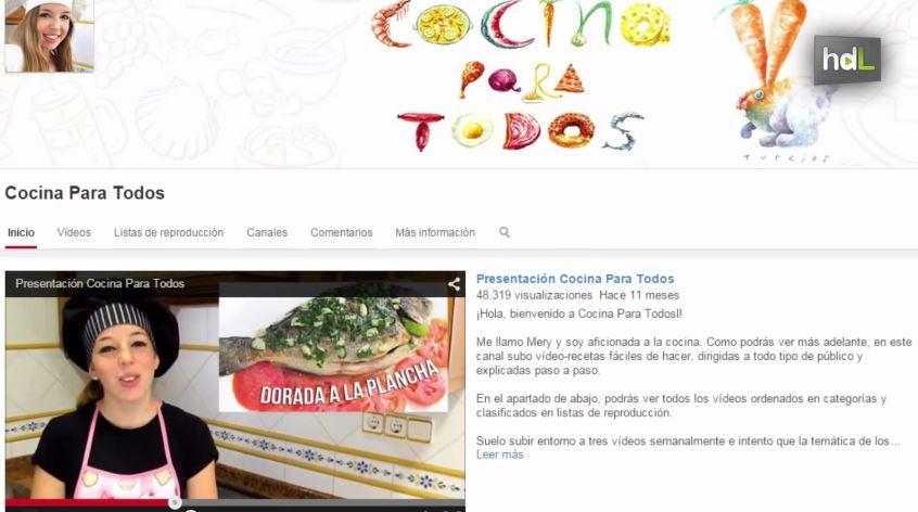 Recetas archives historias de luz for Youtube cocina para todos