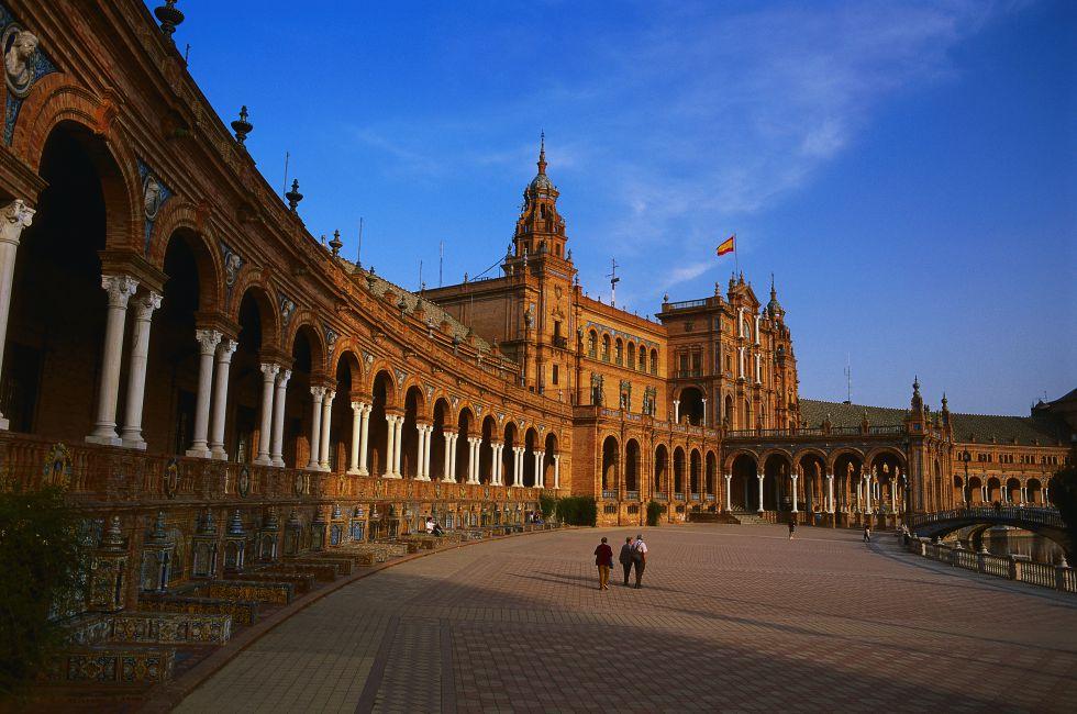 Plaza de España, Sevilla - Vía El Viajero