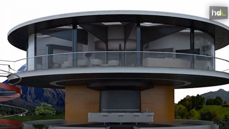 Que una vivienda siempre esté bien orientada hacia el sol o poder cambiar las vistas desde una habitación concreta. Son posibilidades que ofrece el sistema de vivienda giratoria diseñado por unos arquitectos en Málaga. SunHouse360, como se llama el proyecto, está pensado para aprovechar la energía solar y que permite un ahorro energético de hasta un 70 %.